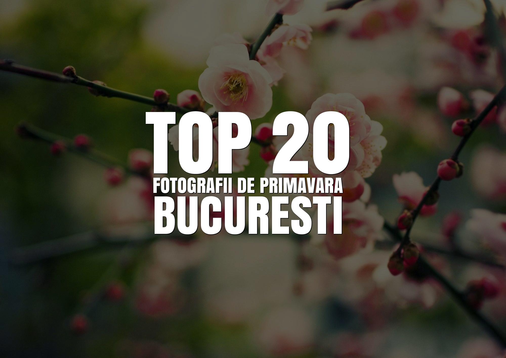 TOP 20 Fotografii de primavara din Bucuresti