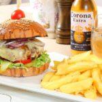 black-angus-beef-burger - Restaurante Bucuresti
