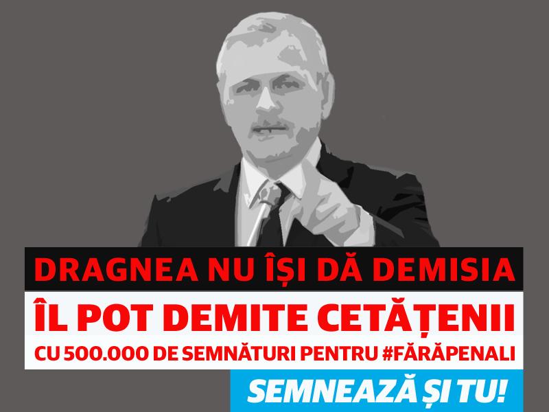 Liviu Dragnea - Demisia PSD