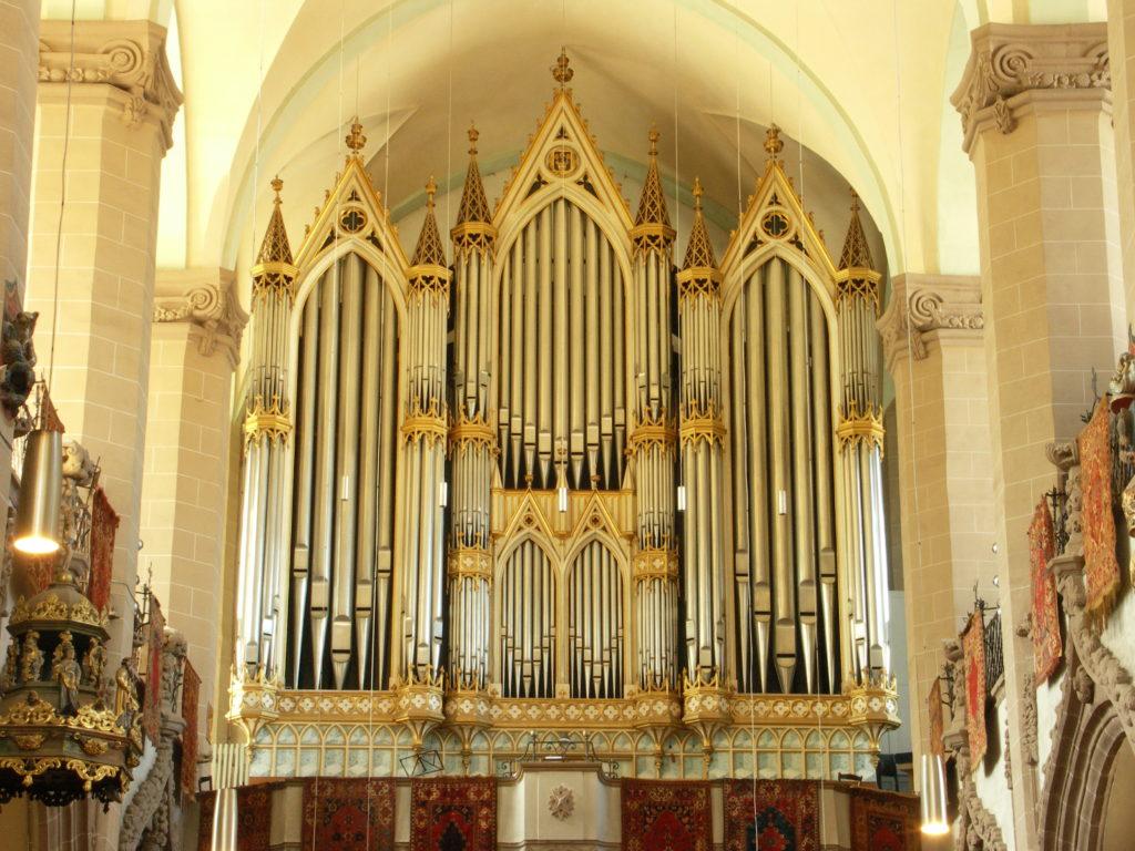 Biserica Neagra - Orga